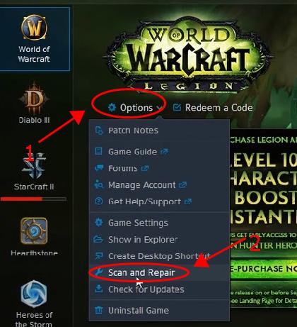 Fixed] World of Warcraft (WOW) Crashing Issues [2019 Tips