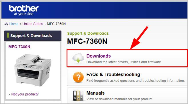 brother mfc 7360n driver and software free downloads