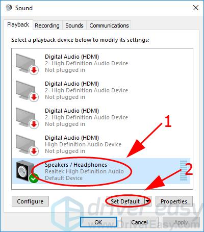 Solved] No Sound on Dell Laptop - Quickly & Easily - Driver Easy