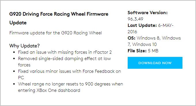 Logitech G920 Driver Download for Windows - Driver Easy