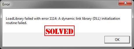 Fixed] LoadLibrary failed with error 1114 Error - Driver Easy