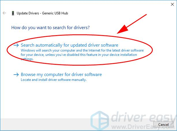 Generic USB Hub Driver Issues in Windows [Fixed] - Driver Easy