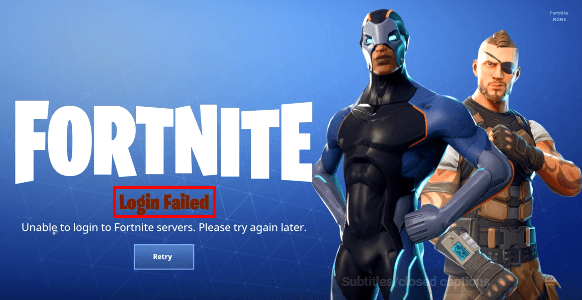 SOLVED] | Fortnite login failed | Quickly & Easily! - Driver Easy