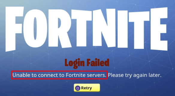 Unable to connect to Fortnite servers [SOLVED] - Driver Easy