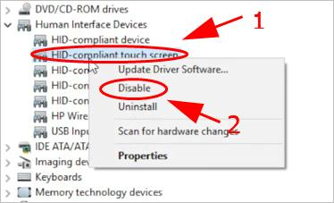 Laptop Touch Screen Not Working [100% Works] - Driver Easy