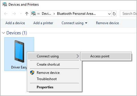 Bluetooth tethering Android to PC [Solved] - Driver Easy