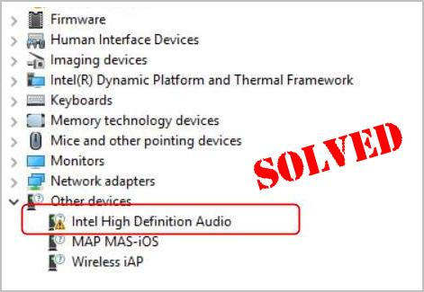 Solved] Intel High Definition Audio Driver Issues on Windows