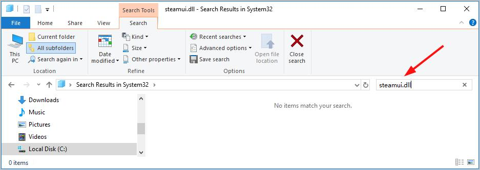 Fixed] Failed to load steamui dll Steam Fatal Error - Driver