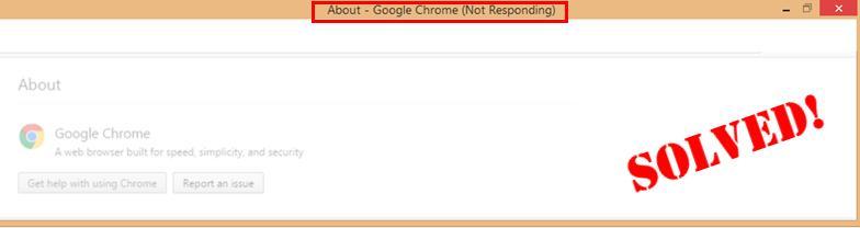 SOLVED] Google Chrome not responding - Driver Easy