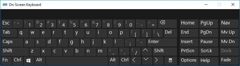 5a45e5ccc10 On Screen Keyboard - How to Get On-Screen Keyboard in Windows 10, 8 ...