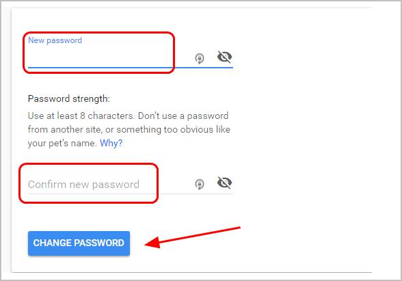 Change your gmail password  Quickly & Easily! - Driver Easy