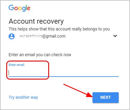 how do i check my gmail password