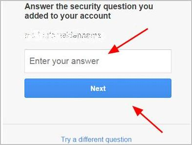 forgot password gmail security question