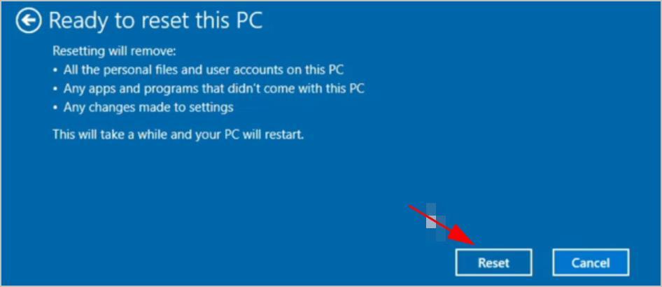 hard reset acer laptop windows 8