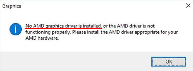 Fix error: No AMD Graphics driver is installed - Driver Easy