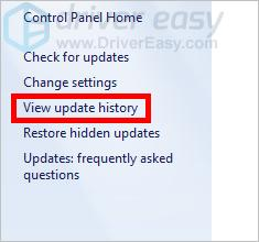 Windows 7 Update Failed [SOLVED] - Driver Easy