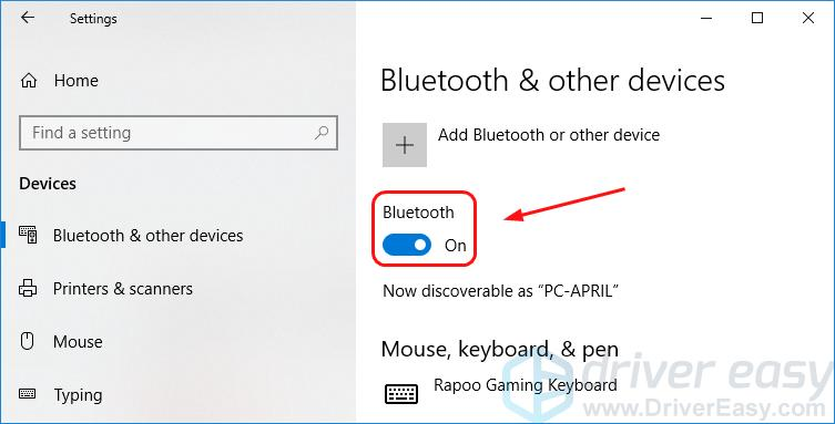 install bluetooth driver for windows 10 64 bit