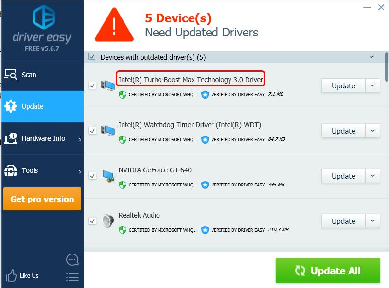 Fix ITBM Driver Not Available Error  Easily! - Driver Easy