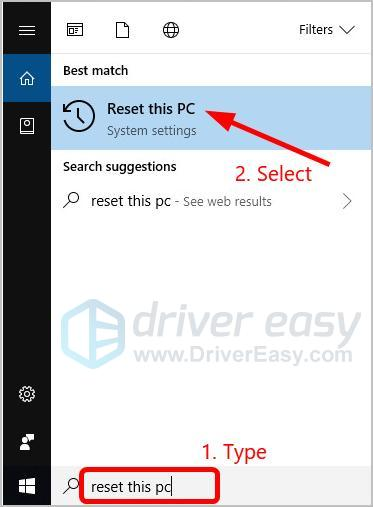 How to factory reset an HP laptop [Step by step] - Driver Easy