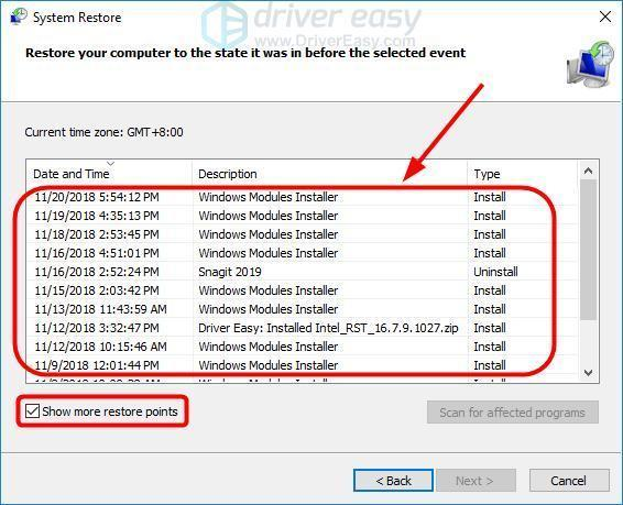 Fixed] Wdf01000 sys blue screen error - Driver Easy