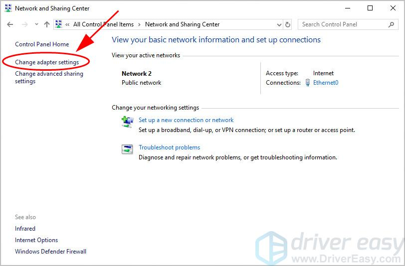 Solved] WiFi adapter is disabled  Easily - Driver Easy