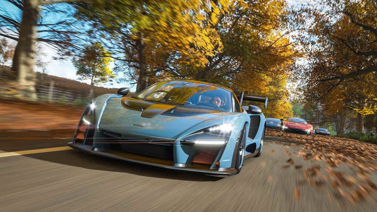 Forza Horizon 4 crash