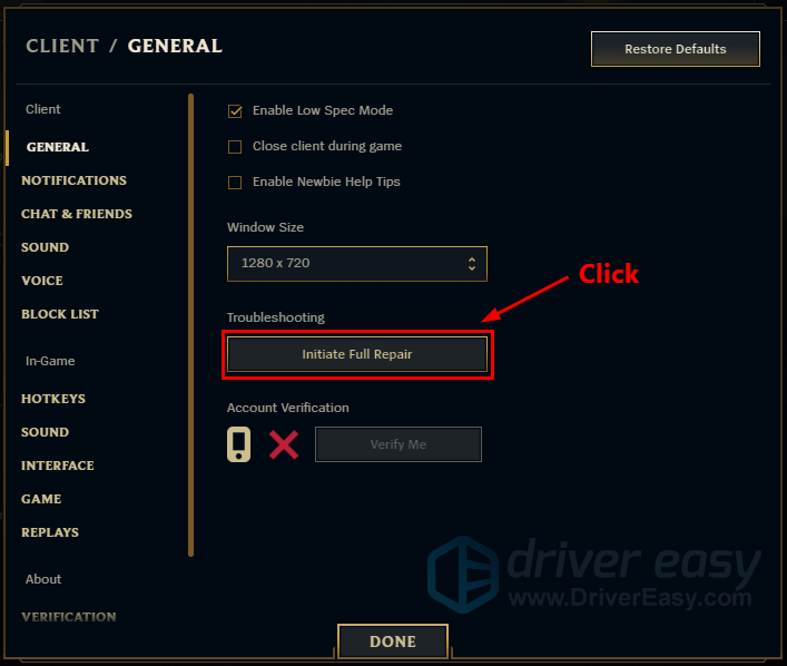 League of Legends FPS drops [SOLVED] - Driver Easy