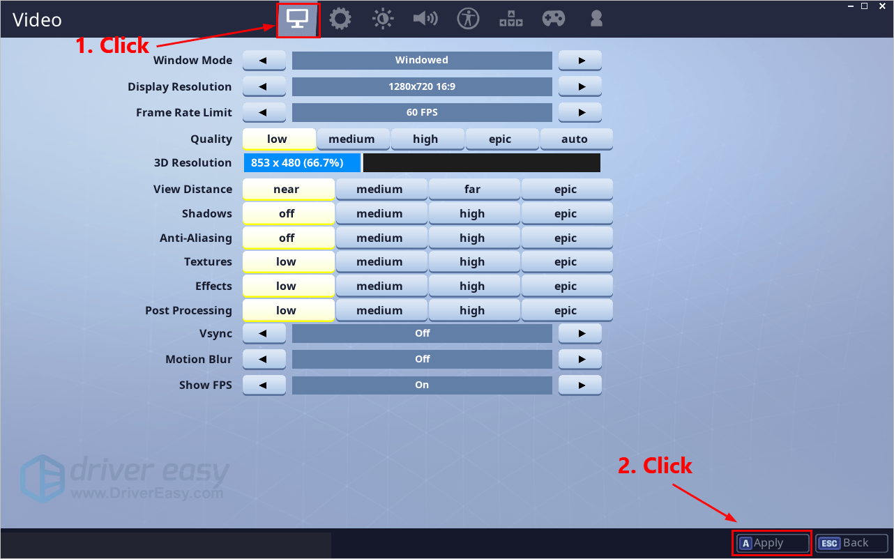 Fortnite FPS Boost [2019 Tips] - Driver Easy