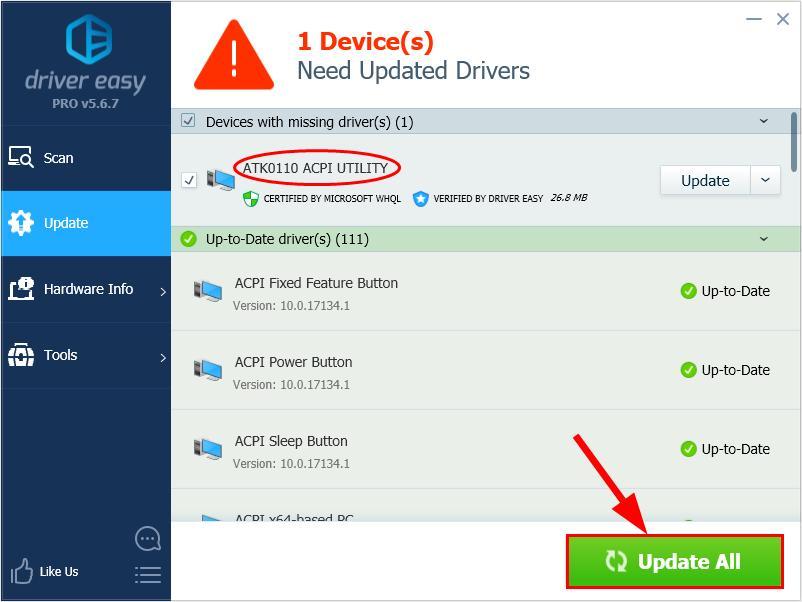How to fix acpi. Sys errors.