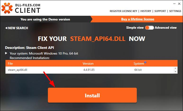 steam api64.dll 64 bit
