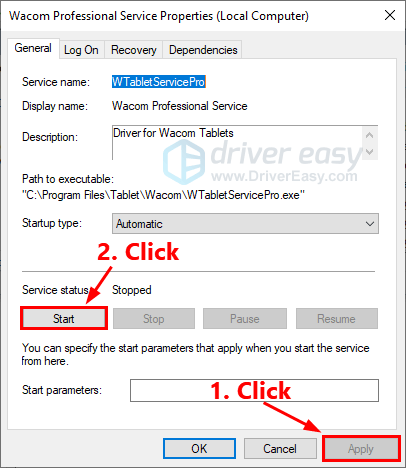Wacom The tablet driver is not running [SOLVED] - Driver Easy