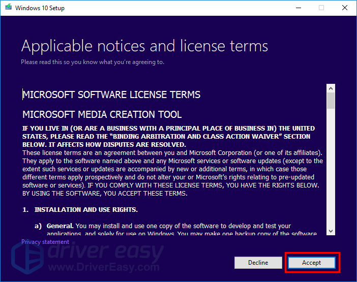 Feature update to Windows 10 version 1803 failed [SOLVED] - Driver Easy