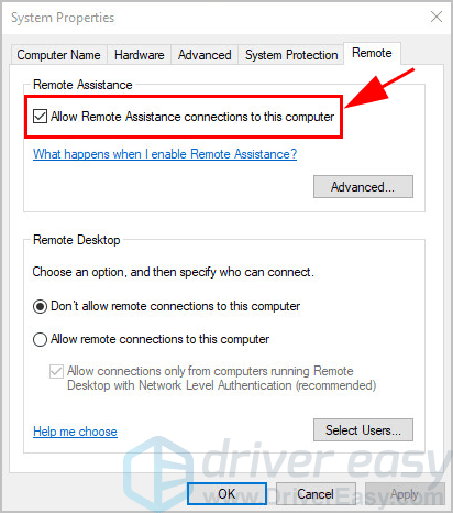 How to set up Remote Desktop on Windows 10 - Driver Easy