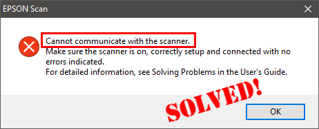 EPSON Scan Cannot communicate with the scanner [FIXED] - Driver Easy
