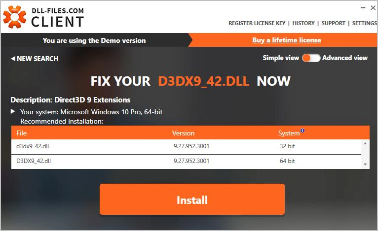 How to Fix d3dx9_42 dll missing or not found Errors - Driver