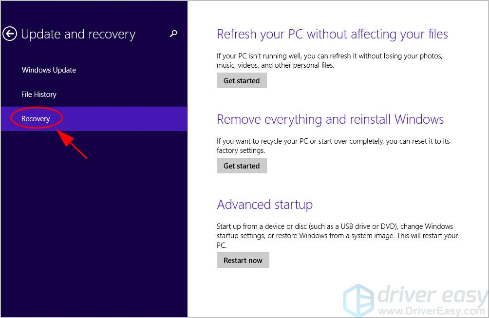 How to Factory Reset Toshiba Laptop - Step by Step - Driver Easy