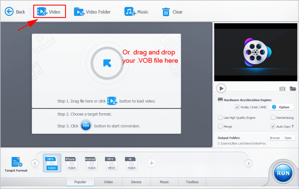 Best Ways to Convert VOB to MP4 - 2019 Guide - Driver Easy