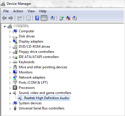 Download Realtek Audio Drivers For Windows 10 7 8 1 Driver Easy