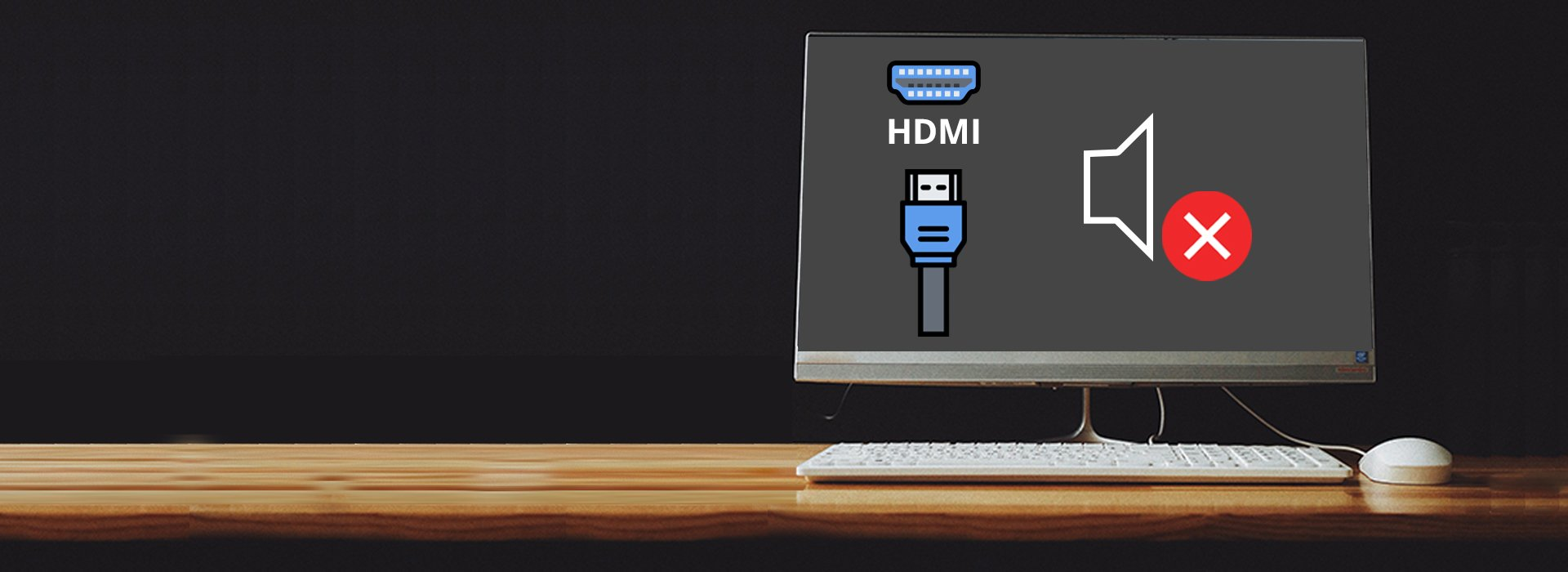 how to fix hdmi no sound after connecting computer to monitor and tv driver easy how to fix hdmi no sound after