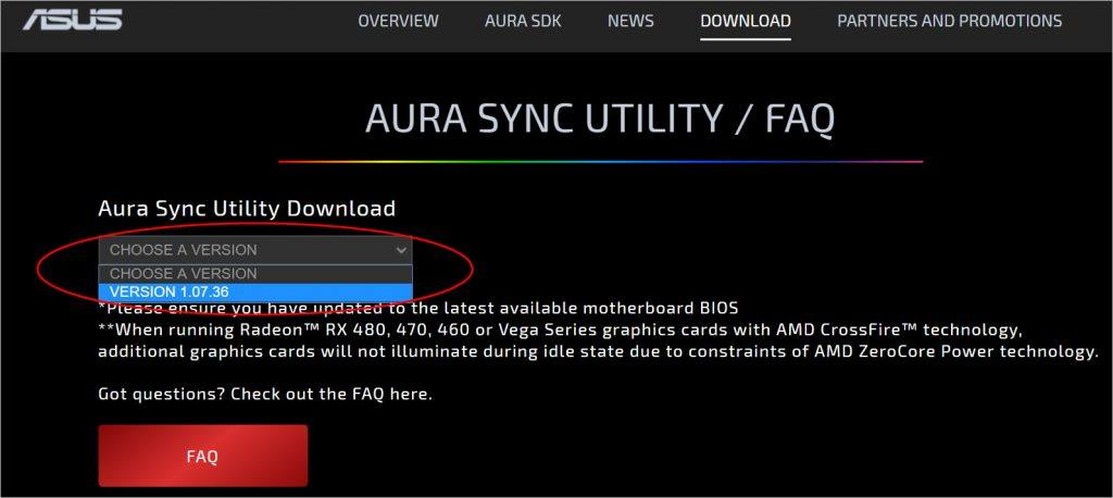 Download] ASUS Aura for Windows 10 - Driver Easy