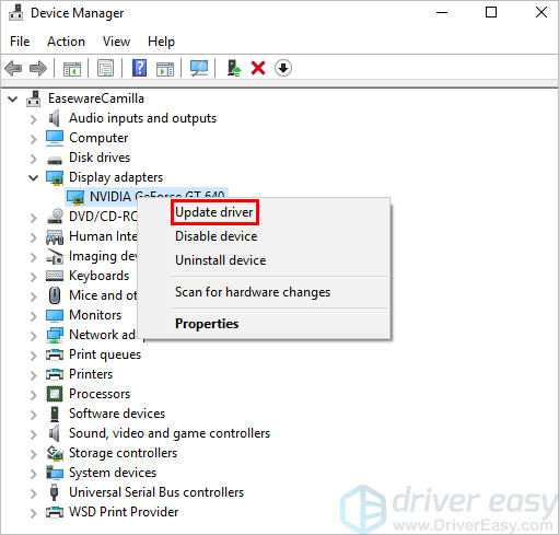How to use the Windows 10 Device Manager to update your