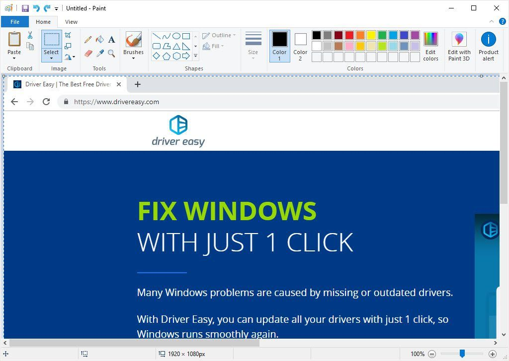How to Take Screenshots in Windows 10 - Driver Easy