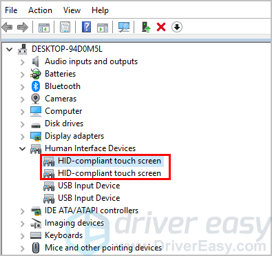 Fixed] Dell Touch Screen Not Working | Easily - Driver Easy