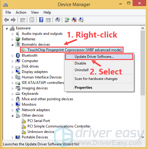 Manually Install Drivers in Windows 8 1 - Driver Easy