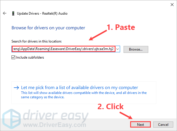Manually Install Drivers in Windows 10 - Driver Easy
