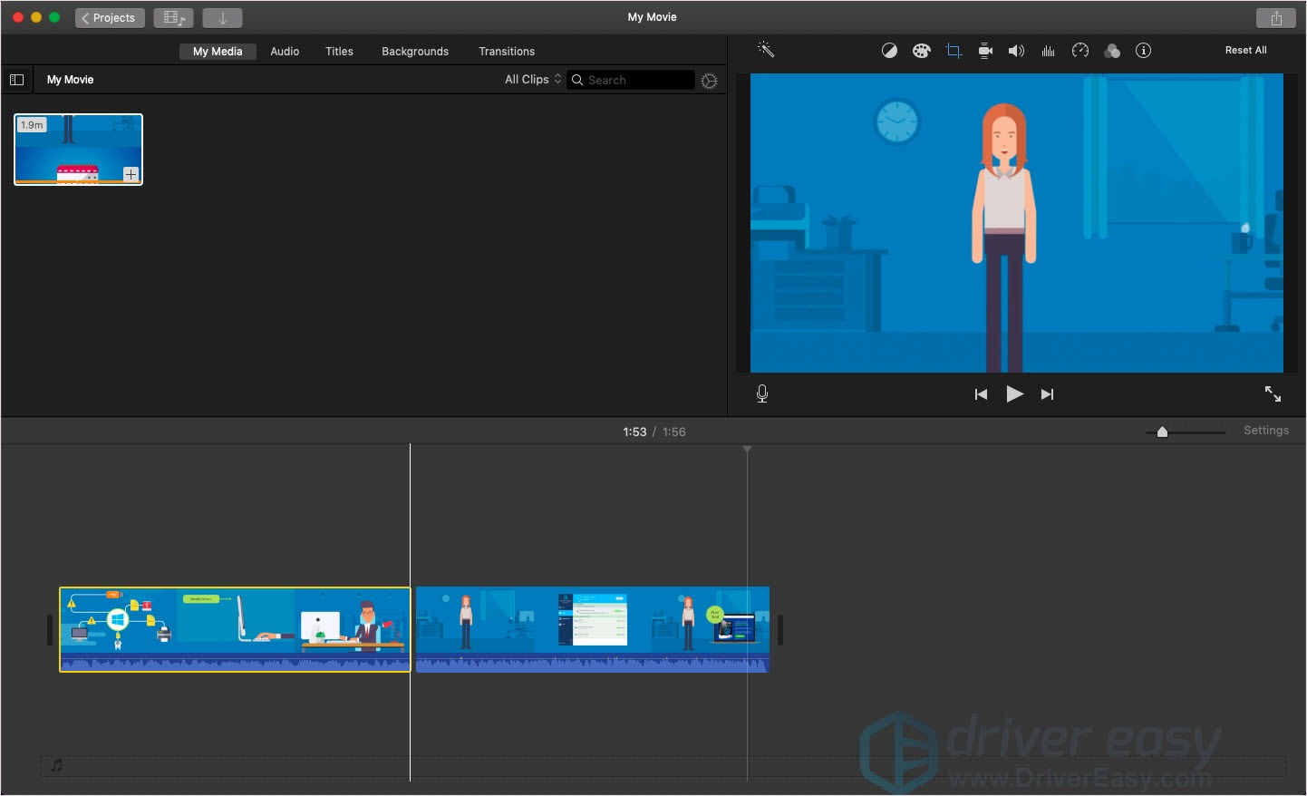 How to cut a video in iMovie - Driver Easy