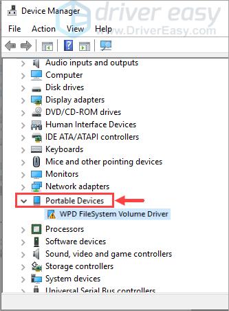WHAT IS WPD FILESYSTEM VOLUME DESCARGAR DRIVER