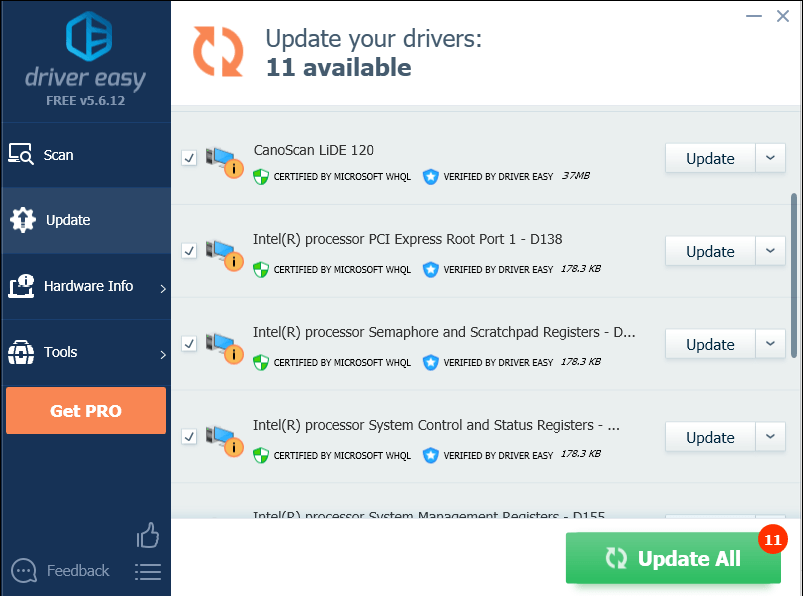 Solved] CanoScan LiDE 120 driver issues - Driver Easy