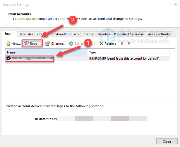 Solved] Outlook Not Connecting | Quickly & Easily - Driver Easy