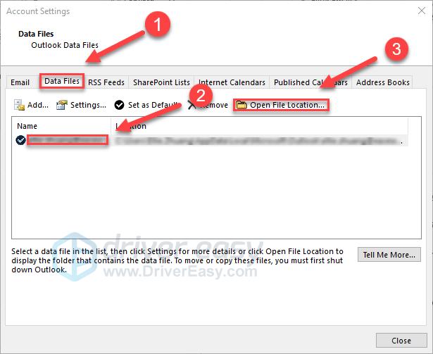 Solved] Outlook Keeps Crashing - Driver Easy